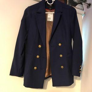 NWT sailor style blazer